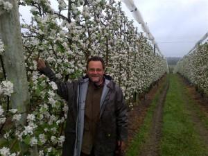 Production de pommes Bio par Le Biau Verger, près d'Angers, Maine-et-Loire